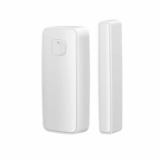 Senzor miscare magnetic SMART pentru geamuri si usi, compatibil cu Tuya/Smart Life, Alexa si Google Home