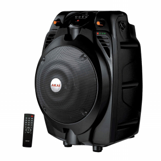 Boxa portabila activa Bluetooth AKAI SS022A-X6, cu telecomanda, 30 W