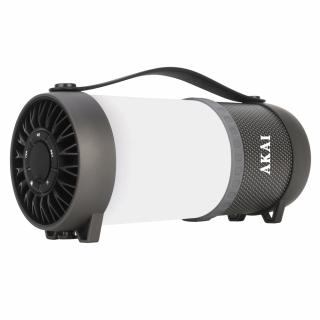 Boxa portabila Bluetooth activa AKAI ABTS-40 cu lampa LED, 10W