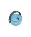 Lunch box din otel inoxidabil (Albastru)