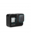 Folie protectie 3 in 1 din sticla securizata pentru GoPro Hero 8 Black, 3 piese