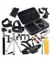 Kit accesorii 40 in 1 pentru GoPro Hero 5 / 6 / 7