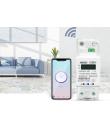 Contor monofazat inteligent WiFi pentru monitorizare energie electrica 110V 220V 50/60Hz, compatibil Tuya / Smartlife