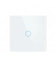 intrerupator wireless tactil alb