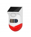Detector de miscare exterior PIR cu infrarosu si sirena compatibil Tuya