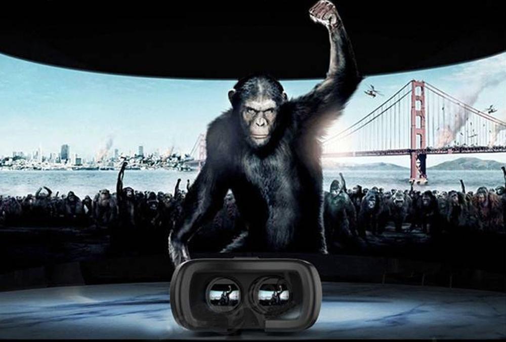 VR Box - Ochelari realitate virtuala 3D, ver. 2.0