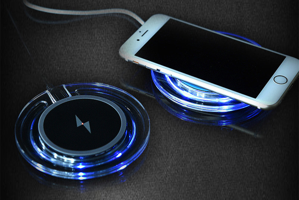 Incarcator Wireless rapid smartphone si tablete cu receiver microUSB
